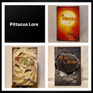 Pittacus Lore Book Bundle